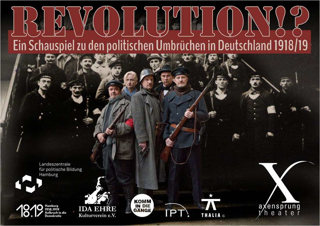 Revolution!? - axensprung theater